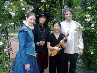 Early Music New York & New York Historical Dance Company at the Garden