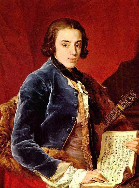 John Montagu, Portrait by Pompeo Batoni