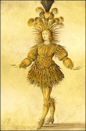 Louis XIV as Apollo (The Sun King)