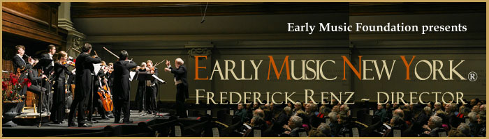 Early Music New York, Frederick Renz - Director | Photo Benjamin Chasteen, The Epoch Times